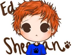 Ed Sheeran is just perfect and his songs are just askhd. Ed Sheeran Ginger Kids, Chibi, Ed Sheeran Love, Awkward Girl, Disney Paintings, People Fall In Love, Still In Love, Abstract Drawings, Cool Artwork