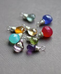 wrapped gemstones