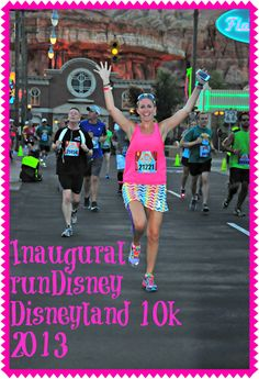 Click to read my recap and see photos of the inaugural runDisney Disneyland 10k. Character photos, race course photos, and lots of fun in California for beginners and experienced runners alike.
