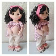 Resultado de imagem para moldes de bonecas de pano gravidas