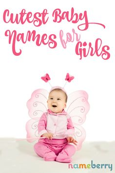 Cute girl baby names, from addie to zuzu! girls names Baby Girl Names Spanish, Baby Names Short, Cute Baby Names, Best Baby Girl Names, Modern Baby Girl Names, Pretty Baby Girl Names, Baby Girl Names Uncommon, Boy Names, Girly Girl Names