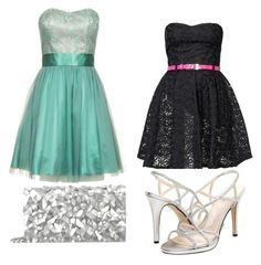 """a night out on the town"" by grace-hobson on Polyvore"