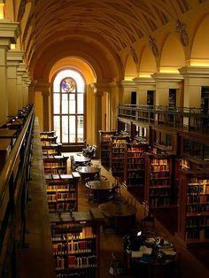 Beautiful Libraries and Bookshops.College Library, Cambridge, England, photo via besttravelphotos. Beautiful Library, Dream Library, Library Books, Reading Books, Cambridge Library, Old Libraries, Bookstores, Library Architecture, Interior Architecture