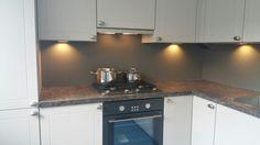 Collorz ral7042 luxe aluminium keukenachterwand