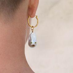 Rich Girl, Pearl Earrings, Moon Earrings, Emerald, Diamonds, Jewelry, Instagram, Videos, Photos