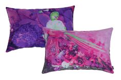 Still (A)life pillows. Pink with purple combinations
