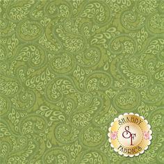 Carina 6184-44 Entwined Green by Amanda Murphy for Benartex Fabrics: Carina is a…