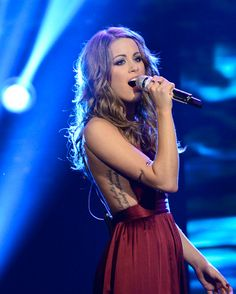 Angie Miller performs Wednesday night on American Idol. (FOX Photo)