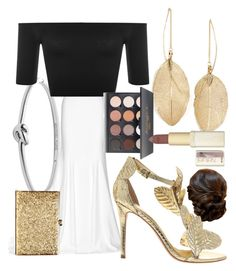 """""""Fall Red Carpet"""" by egordon2 ❤ liked on Polyvore featuring Rime Arodaky, Michael Kors, LULUS, WearAll, KOTUR, Shany and L'Oréal Paris"""