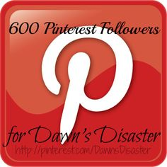 Dawn's Disaster has reached the milestone of 600 Followers! Congratulations Dawn!