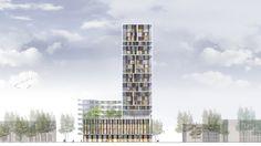 Wohnturm in Antwerpen