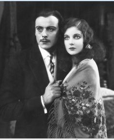 Nils Asther & Loretta Young