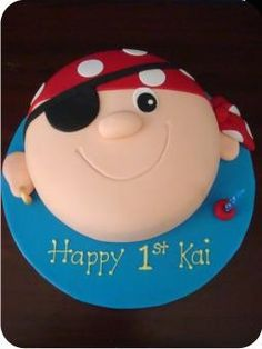 Childrens Birthday Cakes Pirate