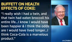 Coca-Cola items: Warren Buffetts gaffe.  Share a Coke and a Song.