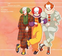 IT, Pennywise, Horror Characters, Horror Movies, Pixiv (Credits for SAVE) All Horror Movies, Funny Horror, Horror Movie Characters, Classic Horror Movies, Horror Films, Scary Movies, Horror Icons, Horror Comics, Pennywise The Dancing Clown