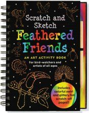 Feathered Friends Scratch  and Sketch $14.99