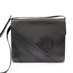 0ad2f6f77c Labellov Delvaux Vintage Black Shoulder Bag ○ Buy and Sell Authentic Luxury