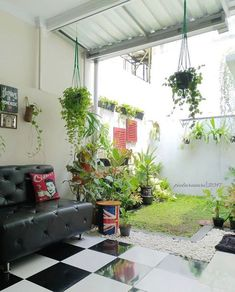 impressive indoor garden ideas to freshen your home 19 Bungalow Haus Design, House Design, Egyptian Home Decor, Carport Designs, Rustic Patio, Interior Garden, Minimalist Home Decor, Home Design Plans, Tropical Houses