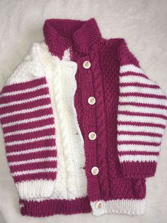 A personal favourite from my Etsy shop https://www.etsy.com/uk/listing/546192386/baby-girl-cardigan