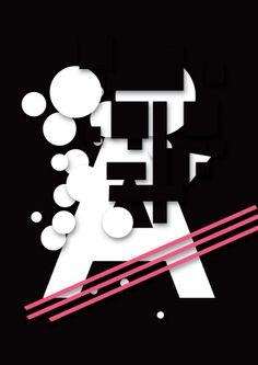 Cartaz Tipográfico by Bruno Beneducci, via Behance