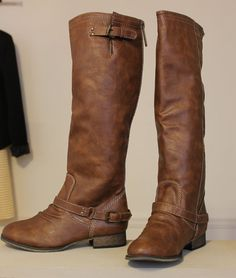 Randie Riding Boots - Studio 3:19. These are so cute and are only $46!