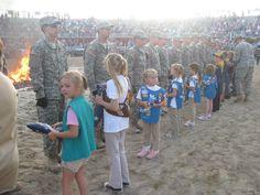 Troop 191 Flag Retirement Ceremony