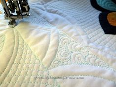 Machine Quilting with Rulers - YouTube