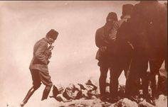 Atatürk'ün Kocatepe'de çekilen o kutsal fotoğrafı.