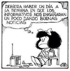Noticias / Mafalda.