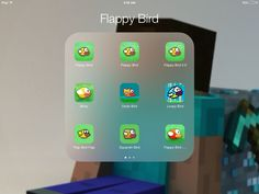 I have 2 apps and there both called flappy bird, which on is the real one, comment what you think is the real one