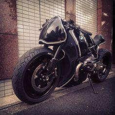 Custom BMW R nine T by Cherry's Company - Kaichiroh Kurosu. Bike Bmw, Bmw Motorcycles, Vintage Motorcycles, Custom Motorcycles, Custom Bikes, Custom Bobber, Custom Choppers, Custom Bmw, Custom Cafe Racer