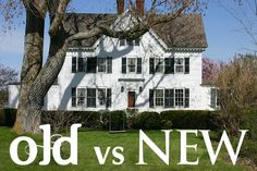 """""""Older or Newer Home? Which type of house is right for your family? Here are some pros and cons for each.""""  We've lived in both and can attest to the differences.  Good think to think abt before buying your next home - MilitaryAvenue.com"""