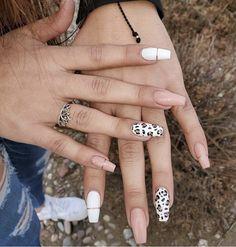 Acrylic Nails Coffin Short, Simple Acrylic Nails, Summer Acrylic Nails, Best Acrylic Nails, Acrylic Nail Designs, Cheetah Nail Designs, Stylish Nails, Trendy Nails, Acylic Nails