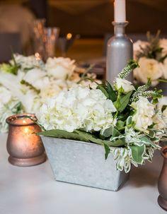 Styled Shoot: Chic Industrial Wedding Reception Ideas from Weddingstar - MODwedding