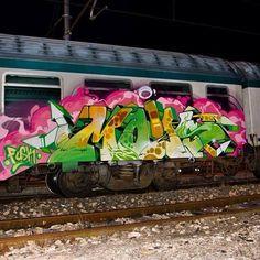 Moas crew Street Art Graffiti, Graffiti Piece, Graffiti Tagging, Graffiti Murals, Graffiti Lettering, Graffiti Images, Banksy Art, S Bahn, Wildstyle