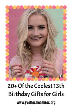 We have the very best list of Gifts For Teenage Girls. 13th Birthday Girl Gift Ideas from funny teen gifts to cute bags and Blinger hair designs. Is she a beauty lover, or sports lover, we've got it all! #giftsforteenagegirls #teengiftideas #giftsforteengirls #giftsforher #tweengiftideas Teen Gifts, Teenage Girl Gifts, Gifts For Teens, Great Gifts For Mom, Unique Gifts For Her, 13th Birthday, Girl Birthday, Gift Guide For Him, Camping Gifts