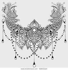 Mandala India: Tattoo design template with mehndi elements. verziert Mandala India: Tattoo design template with mehndi elements. Mandala Tattoo Design, Mandala Hand Tattoos, Lotus Flower Tattoo Design, Flower Tattoos, Mehndi Designs, Modern Tattoo Designs, Mandala Tattoo Schulter, Schulter Tattoo, Trendy Tattoos