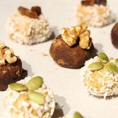 cashew balls coconut