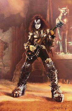 Rock Band Posters, Rock Poster, Paul Stanley, Eric Singer, Banda Kiss, Kiss Group, Gene Simmons Kiss, Rock And Roll History, Rock Y Metal