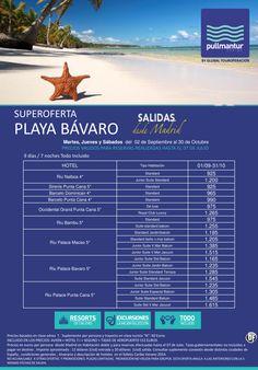 Super Oferta Cadenas Playa Bávaro Septiembre y Octubre ultimo minuto - http://zocotours.com/super-oferta-cadenas-playa-bavaro-septiembre-y-octubre-ultimo-minuto/