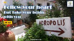 Follow your #heart but take your brain with you #rockstars #motivational #inspirational #quotes #2pac