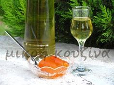 μικρή κουζίνα: Γλυκό κουταλιού νεράντζι-Αρωματική ζάχαρη με νεράντζι Dessert, Alcoholic Drinks, Cooking Recipes, Sweets, Rose, Kitchens, Pink, Gummi Candy, Deserts
