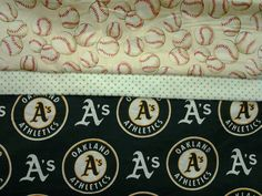 Custom Handmade MLB Oakland Athletics A's Washable Pillowcase. Fits Standard Size Pillow. by MissAmandaMadeIt4Me on Etsy