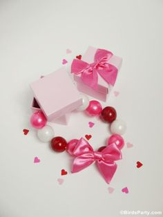 Valentine's Day Gift or Favor Idea: DIY Gumball Necklaces
