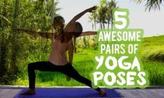 Pairs of yoga poses