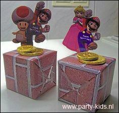 traktaties: Super Mario zelf maken