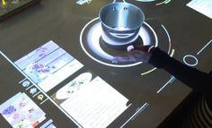 Cook Top : une table de cuisson connectée - PROavecvous - #pointdevente #digital #magasin #connecté