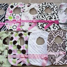 Personalized Baby Bibs for Girls: Meal Time Baby Gifts