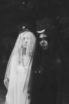"""The Look: """"Ashes to Ashes"""" Photography & Retoucher: KMarie Photography / Stylist,Hair & Makeup: Jessica Jennings / Models: Nicole Nguyen & Emily Wehunt"""