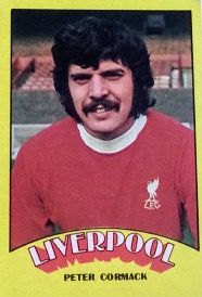 Peter Cormack of Liverpool in 1972.
